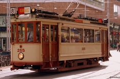 Historic tram in The Hague