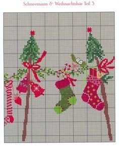 Schneemann & Weihnachtsbar Teil 3 | Gallery.ru / Фото #52 - Вышивка 19 - kuritsa-kusturitsa