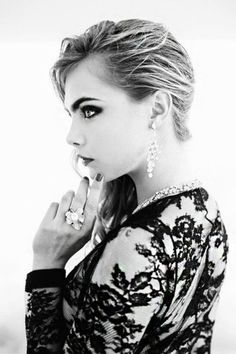 Cara Delevingne, this is a photo-shoot I would like to be involved with.