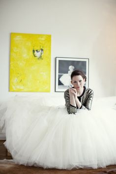 love this Bride's dash of sparkle  Photography by http://linaarvidsson.se, Dress by http://www.davidsbridal.com/Browse_White-by-Vera-Wang