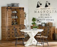 From the new Magnolia Home Furnishings line by Joanna Gaines. Coming to The Great American Home Store in April 2016! #magnoliahome