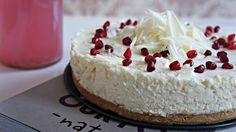 Receita de Cheesecake de Chocolate Branco