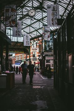 Foodie's Guide to London | Adventures in Cooking ..  This is Borough Market, which is a huge farmer's market in southeast London.