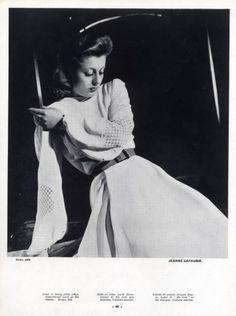 Photographed by Constantin Joffé 1940 Vintage Photography, Fashion Photography, 40s Fashion, Womens Fashion, Vintage Outfits, Vintage Clothing, Elegant Woman, Dressmaking, New Look