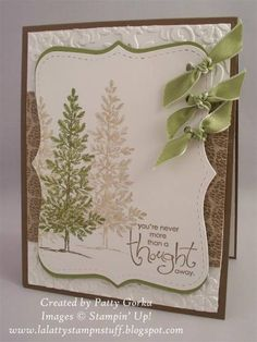 Lovely Trees by LaLatty - Cards and Paper Crafts at Splitcoaststampers