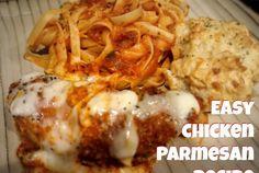 Easy Parmesan Chicken via @easylivingtoday