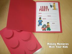 a3d010baa9d4c34d1aee470beafa6cf3 lego party invitations invitation ideas how to make lego party invitations so easy! perfect for a boy,Lego Party Invitation Ideas