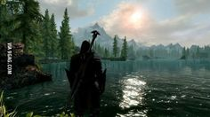 Skyrim is beautiful