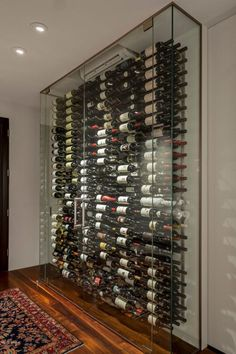 International Wine Country / Vineyard - Real Estate and Apartments for Sale Glass Wine Cellar, Home Wine Cellars, Wine Cellar Design, Wine Glass, Wine Cellar Modern, Restaurant Montreal, Deco Restaurant, Cave A Vin Design, Wine Display
