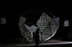 NOHlab x buşra tunç present OCULUS as an interactive light + sound performance