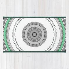 """""""Green West"""" Area  Throw Rug (Alfombra) / 2' x 3' 