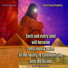 Each and every soul will become consciously awake of the ability to communicate with the Divine ♥