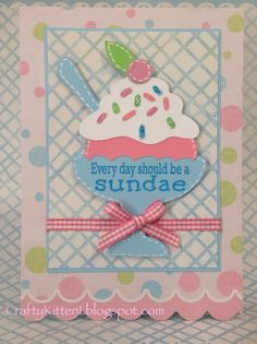 Birthday card made with stamp from Yummy Puns set available at JoysLife.com