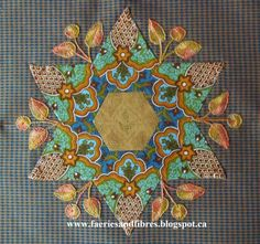 The Great Hexagon Quilt - Along: Soupcon Quilt Along (QAL). More beautiful embroidery