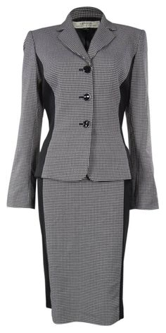 Tahari Arthur S. Levine Elegant Women's Business Suit Blazer & Skirt Set           ($189.99)