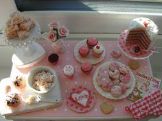 Miniature ser mi día de San Valentín para hornear VENTA mesa