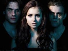 DamIan Somerhalder as Damon Salvatore, Nina Dobrev as Elena Gilbert and Paul Wesley as Stefan Salvatore. All rights reserved to The CW. Vampire Diaries Stefan, Serie The Vampire Diaries, Vampire Diaries Wallpaper, Vampire Diaries Funny, Vampire Diaries Seasons, Vampire Diaries The Originals, Stefan Vampire, Vampire Eyes, Paul Wesley