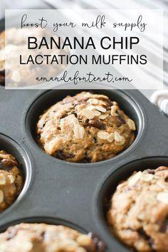Banana Lactation Muffins   Amanda Fontenot   Atlanta Blogger