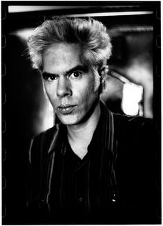 Jim Jarmusch (1953) - American independent film director, screenwriter, actor, producer, editor and composer. Photo © Richard Dumas, Cannes 1999