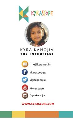 Kyrascope Visiting Card Front