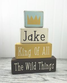 Where the wild things are king of all the wild by AppleJackDesign