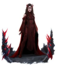 Scarlet Witch by MarkoTheSketchGuy.deviantart.com on @deviantART an actual scarlet witch