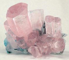 Morganite. Actually it's pink AND turquoise! I could meditate and get lost in this gorgeous gift of nature, no doubt.