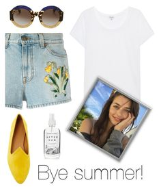 """""""Bye."""" by schenonek ❤ liked on Polyvore featuring Gucci, Splendid, Le Monde Beryl and Herbivore"""
