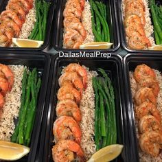 Spicy shrimp rice & asparagus #dallasmealprep #mealprep #mealprepping #cooking #food #healthy #healthyeating #eatclean #cleaneating #eatcleantrainmean #exercise# #crossfit #delicious #dallas #dallastexas #foodporn #instafood #picoftheday #nutrition #mealprepmonday #mealprepsunday #fitwomencook #fitmencook #beastmode #shrimp #flavorgod #asparagus #eathealthy by dallasmealprep