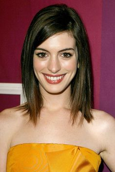 """...bobs that are cut above the chin can look weird with a long neck.""  --Ted Gibson. Instead, opt for a medium length lob."