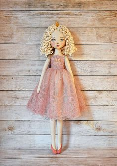 Textile doll decorative dollcollectible dolls  doll cotton
