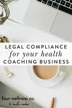 Legal Compliance For Your Health Coaching Business   Entrepreneur Tips - Are you looking to start up your own wellness business? Click to learn the legal considerations for setting up and protecting your health coaching practice, including the legal policies you need on your website ( Healthy Lifestyle Tips, Lifestyle Group, Business Entrepreneur, Business Tips, Facebook Support, Dream Career, Online Coaching, Business Inspiration, Wellness Tips