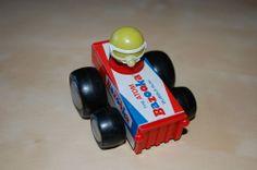 Buddy L Racers, Vintage Toy Car, Bazooka Bubblegum!