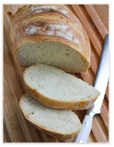 Easy No-Knead Bread whenever you want it!