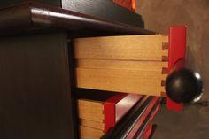 Ettore Sottsass, Bastonio,1965, Italy. #erastudioapartmentgallery #erastudio #deisgngallery #collectibledesign #design #gallery #milan #italy #ettoresottsass #wood #italiandesign #historicaldesign #interior #sixties #ambience #places #madeinitaly #furniture #details #cabinet #drawer #bastonio #memphis #memphisdesign #pattern #wood #lacquerwood #poltronova