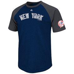 New York Yankees Big Leaguer Fashion Raglan T-Shirt by Majestic Athletic -  MLB. 121f30664