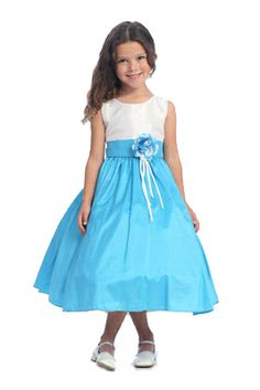Melissa Girls Party Dress - PuddlesCollection.com