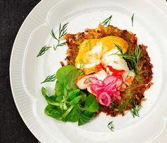 Recept: Dillråraka med skaldjur och tomatmajonnäs