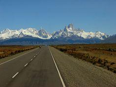 El Calafate - El Chaltén road   Patagonia Argentina