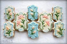 Flower Cookies for Ally | Cookie Connection