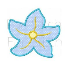 starfish applique machine embroidery design digital by FunStitch