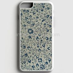 Blue Floral Vintage iPhone 7 Plus Case | Aneend.com