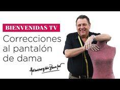 Hermenegildo Zampar - Bienvenidas TV - Explica Correcciones y Defectos en Pantalones. - YouTube