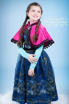 Etsy の Frozen Custom Anna Princess Costume by EllaDynae