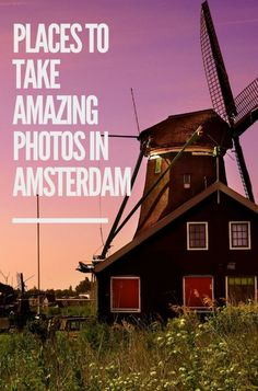 The Best Places to Get Amazing Photos in Amsterdam