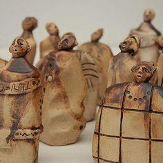 Esculturas Dulu #trestierras #ceramica #arte #arteobjeto