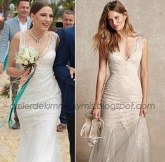 Medcezir - Mira (Serenay Sarıkaya), Monique Lhuillier Wedding Dress