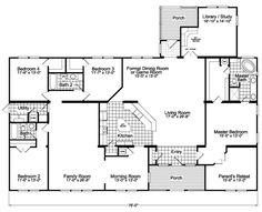 Flex Room - Library + Optional Living Room Facing Kitchen - The Gotham Flex SCYD76F8 by Palm Harbor Homes