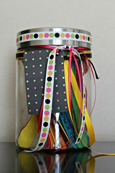 Best home made gift for mom its a jar for each memory!