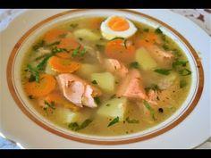 Уха из форели/Суп из красной рыбы. - YouTube
